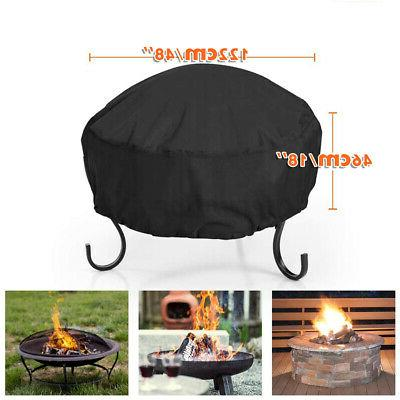 48-inch Pit Cover Waterproof UV Protector Grill -US