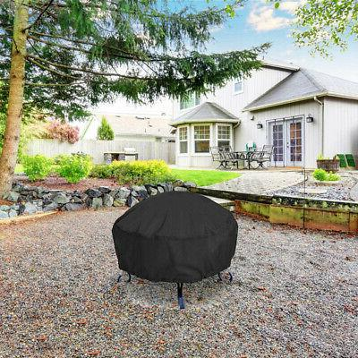 48-inch Patio Round Pit Protector Grill Cover -US