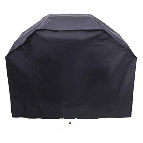 52inch waterproof gas grill cover black fits