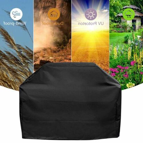 """57"""" Black Grill Cover For Genesis & Genesis 300 Gas Grills"""