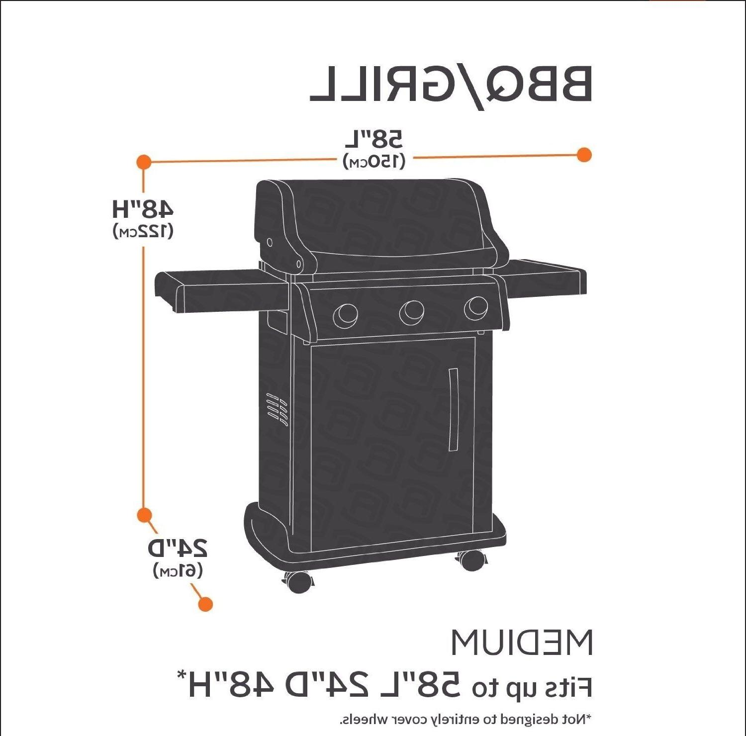 """BBQ Grill Cover 64"""" 70"""" 72"""" Barbecue Outdoor"""