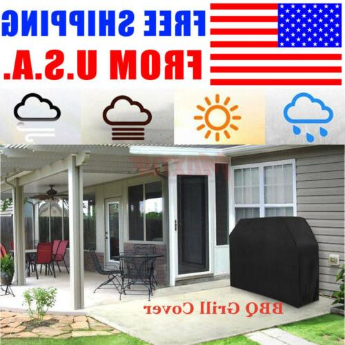 "LARGE BBQ Gas Grill Cover 67"" Outdoor Waterproof Barbeque Co"