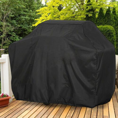 """X LARGE BBQ Gas Grill Cover 57""""/67"""" Outdoor Waterproof Barbe"""