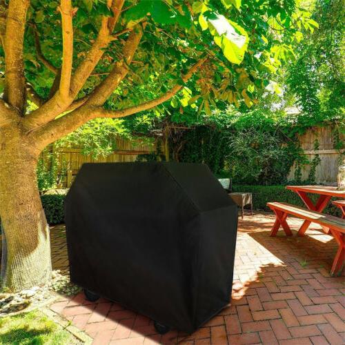"""BBQ Gas Grill Cover 57"""" 67"""" Barbecue Patio Protection Waterp"""