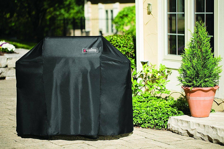 Weber 7106 Grill Black Storage For Spirit 220 300 Series Gas