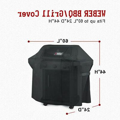 Weber 7107 Grill Cover With Bag For Genesis Gas