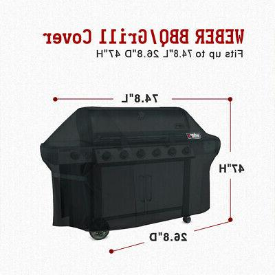 Weber 7109 Cover For Gas Black NEW