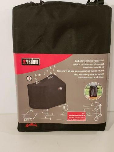 Weber 7152 Grill Cover With Storage Bag For Weber Performer