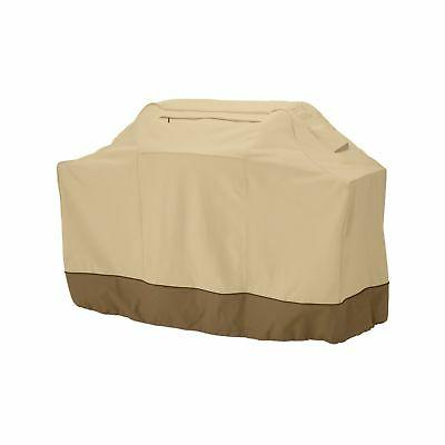 Medium 58-Inch Gas Grill Cover For Weber Genesis, Brinkmann,