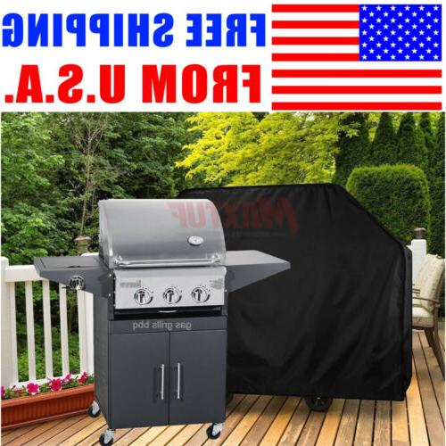 """75""""Gas Grill Cover Outdoor Barbecue Charcoal Smoker Cover Al"""