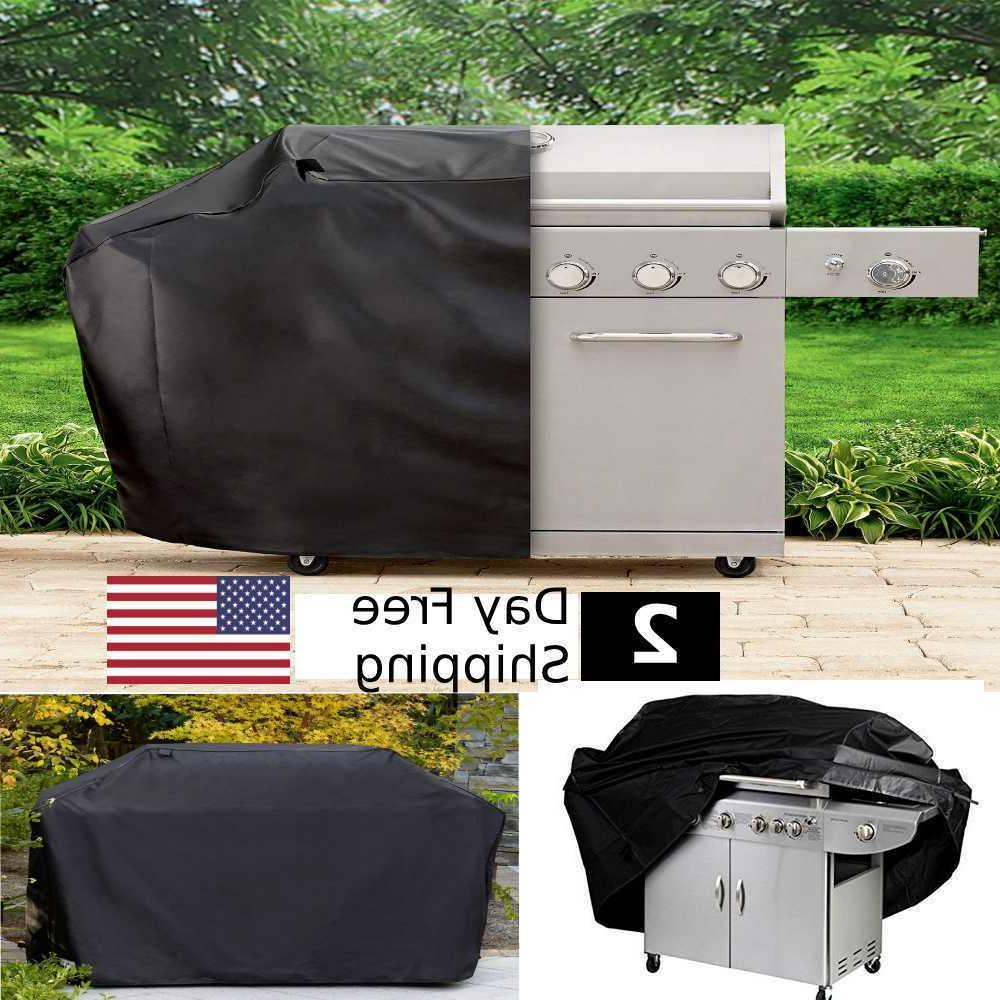 "BBQ Grill Cover 58"" Gas Heavy Duty Home Patio Garden Storage"