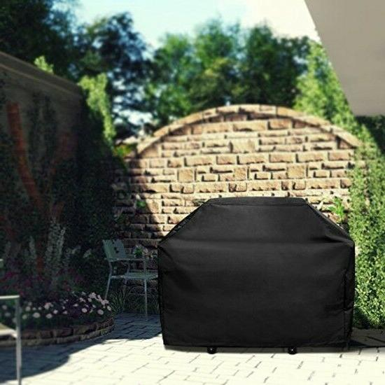 VicTsing Grill Cover UV 3-4 Burner Gas Heavy Duty 58 Inch Wa