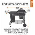 Classic Accessories 55-411-011501-00 Veranda Grill Cover For