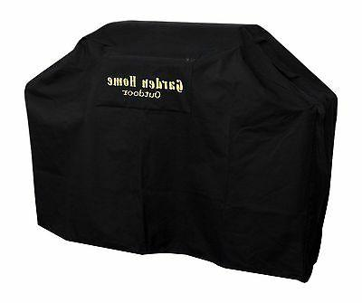 "Garden Home outdoor Heavy Duty Grill Cover 70"" L Black 70 IN"
