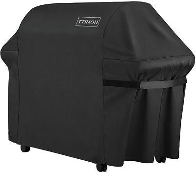Homitt Waterproof Grill Cover, 64 Inch 600D Heavy Duty BBQ G