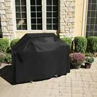 Homitt Gas Grill Cover, 58-inch 600D Heavy Duty Waterproof B
