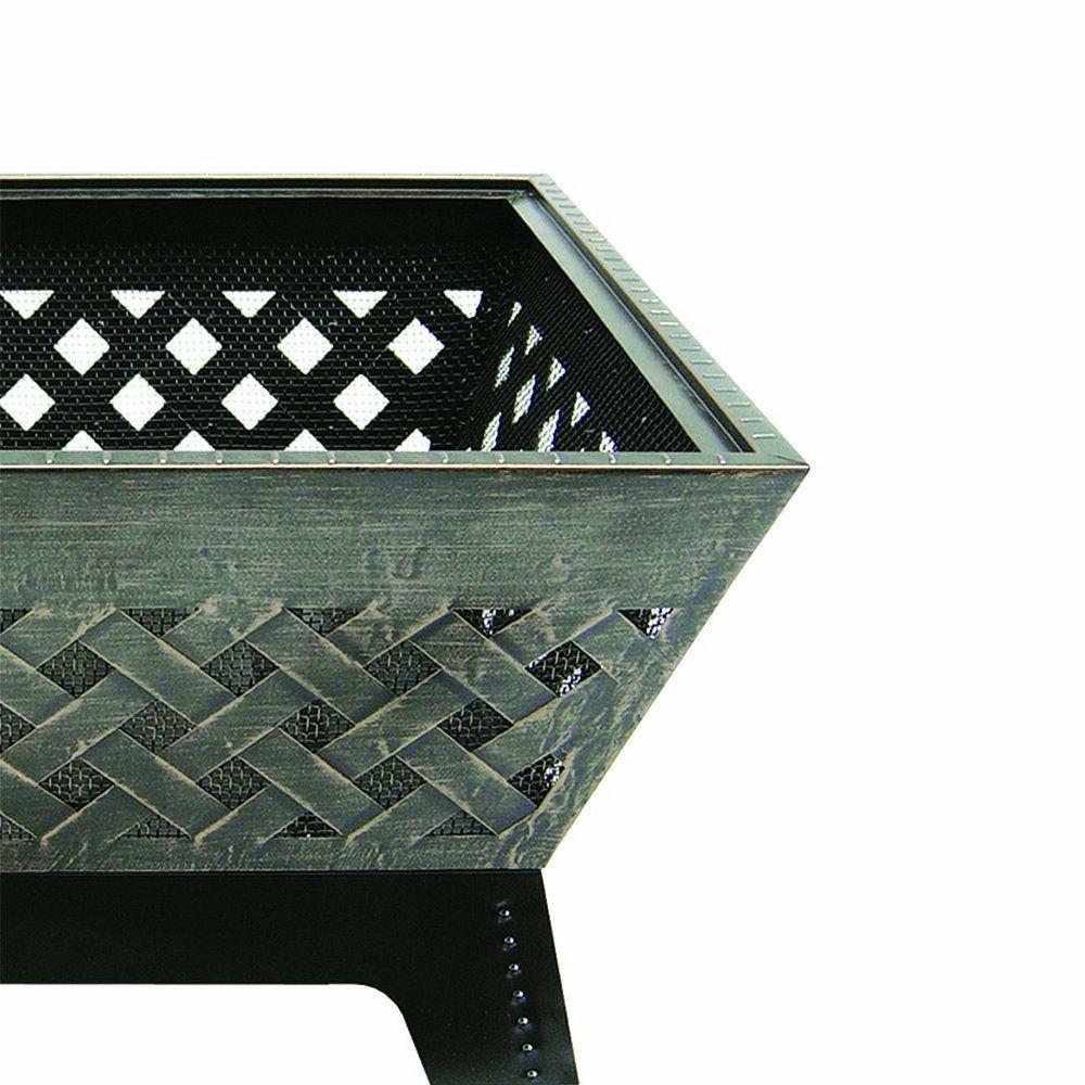 LANDMANN 25282 BARRONE FIRE PIT WITH COVER 26-INCH