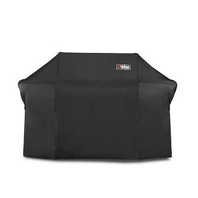 Weber 7109 Grill Cover With Black Storage Bag For Summit 600