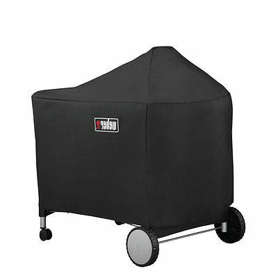 Weber 7152 Grill Cover with Storage Bag For Performer Premiu