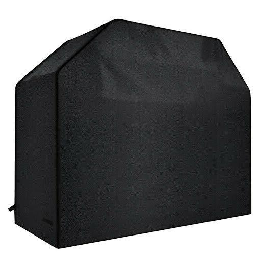 barbeque gas grill cover black 58x24x48inch