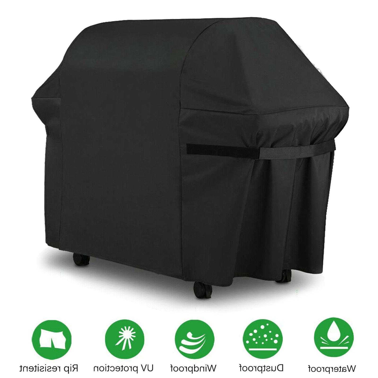 Barbeque Grill Cover Heavy Duty Resistant