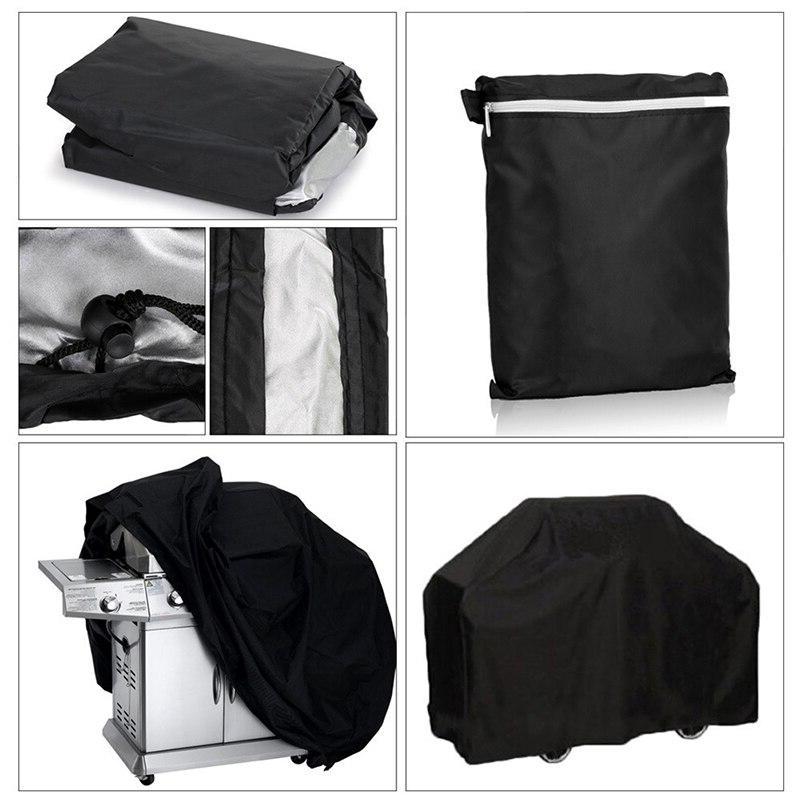 BBQ <font><b>Cover</b></font> Waterproof BBQ Accessories Anti <font><b>Gas</b></font> Electric Barbeque BBQ Plus