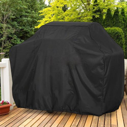 "X LARGE BBQ Gas Grill Cover 57""/67"" Outdoor Waterproof Barbe"
