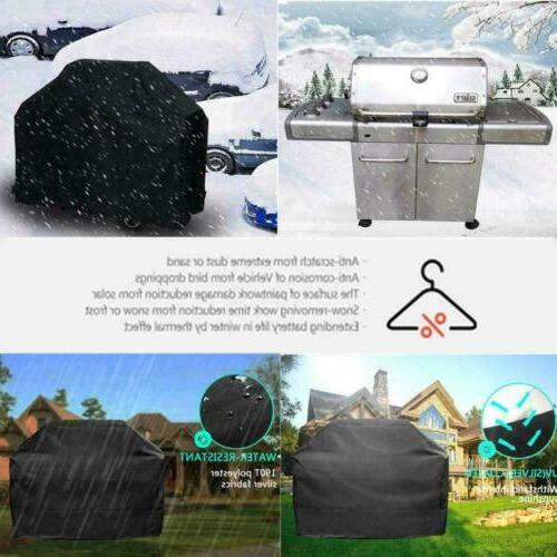 BBQ Grill Cover 57 Inch UV Waterproof Outdoor