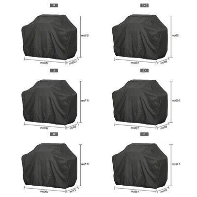 BBQ Gas Grill Cover UV Block Barbecue Waterproof Outdoor Hea