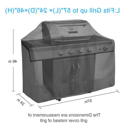 """BBQ Grill 67"""" Gas Barbecue Outdoor Duty Protection US"""