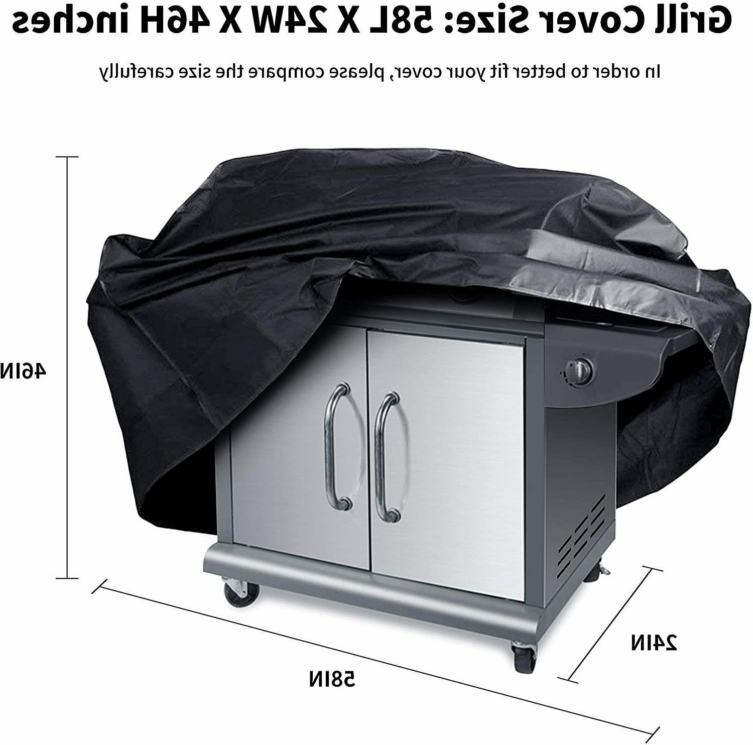 Rouffiel BBQ Grill 58 Cover, Gas Grill f