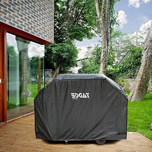 Tadge BBQ Cover Duty Weber Charbroil Fit Strap Fasteners | Charcoal, Electric