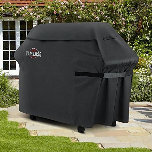 Grillman Cover, Heavy-Duty Grill Cover For Brinkmann, Char etc. Rip-Proof , &