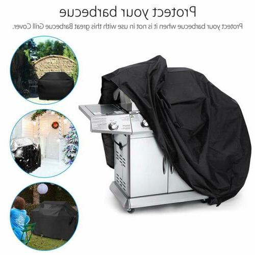 BBQ Grill Cover Gas Heavy Duty for Home Patio Garden -Storag