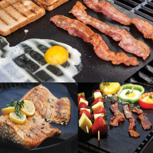 BBQ Special Grill Mat Silicone Non Stick Fat Reducing Cookin