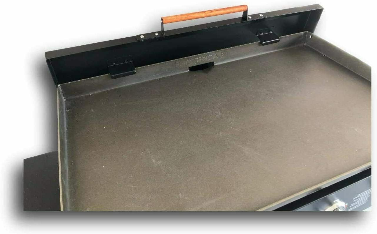 Black Aluminum Lid Griddle - USA