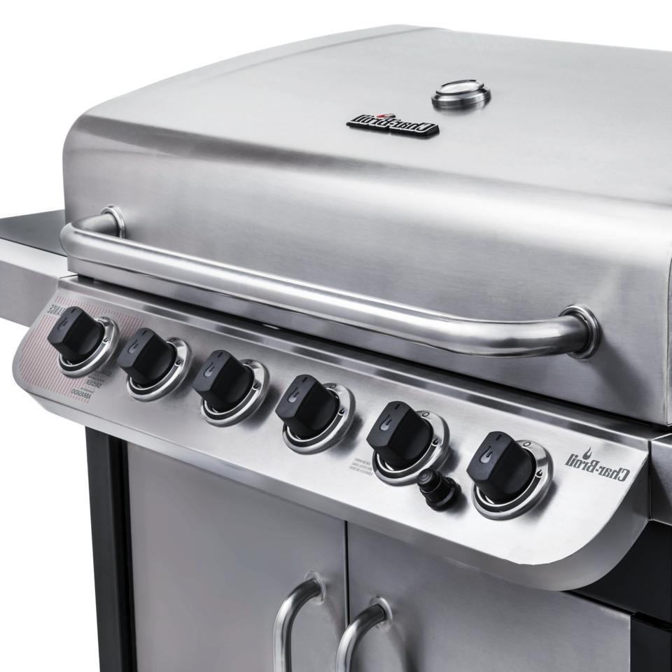 Char-Broil Performance 6 Burner Outdoor Cooking Backyard BBQ