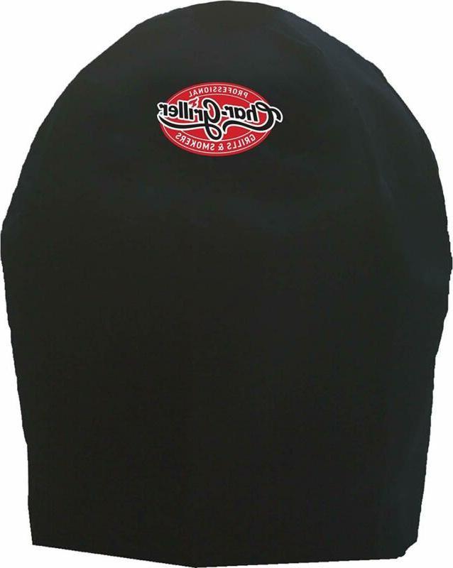 Char-Griller 6659 Akorn JR Grill Cover, Black