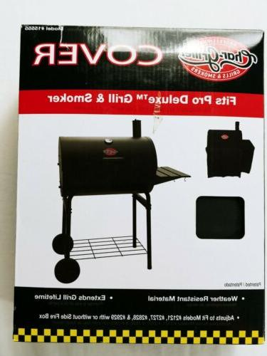 char griller smokin pro pro deluxe grill