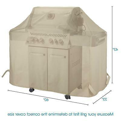 UNICOOK Gas 60 Inch, Outdoor Charcoal Barbecue Grill Cover, of