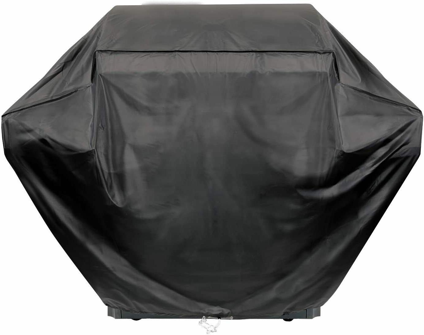 Grill Cover 55 Inch Heavy Duty Vinyl Weather Proof with Draw