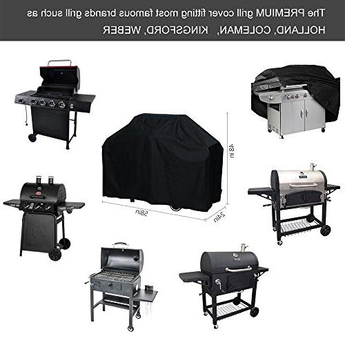 OUTDOOR DOIT Grill Cover 58 Heavy Duty Waterproof Protected Outdoor. Oxford Cover Brands Grill like Holland Weber,Char