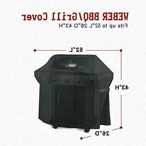 Weber Cover Cover for Spirit 200 and 300 Gas Grill
