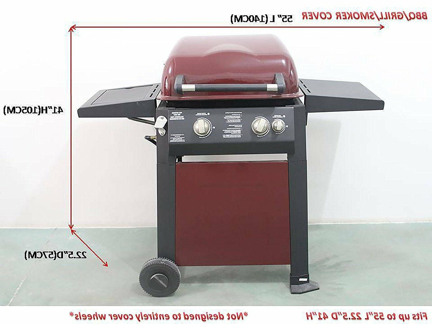 iCOVER Smoker Grill Cover for weber char-broil Brinkmann