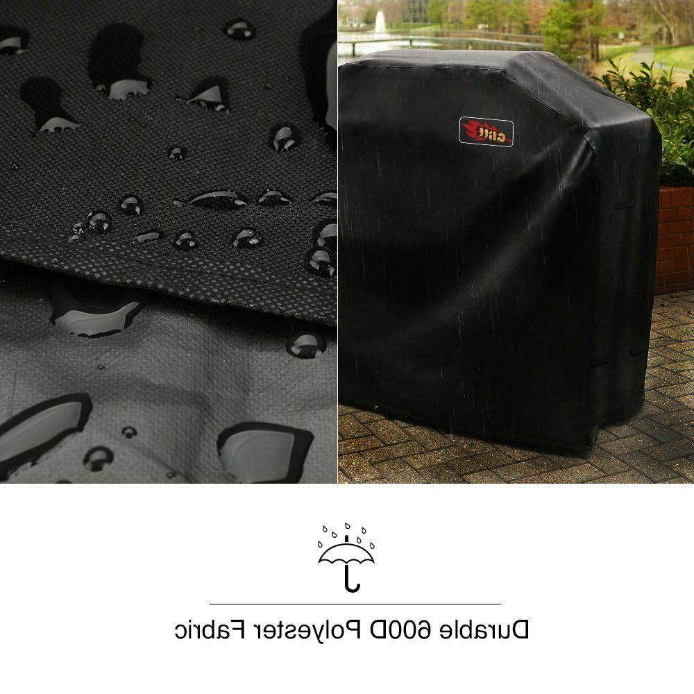 VicTsing 58-Inch Waterproof BBQ Cover, Heavy Gas