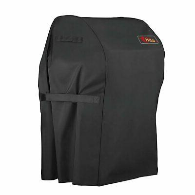 Two Burner Grill Cover Heavy Duty Waterproof Barbeque Bbq Ga