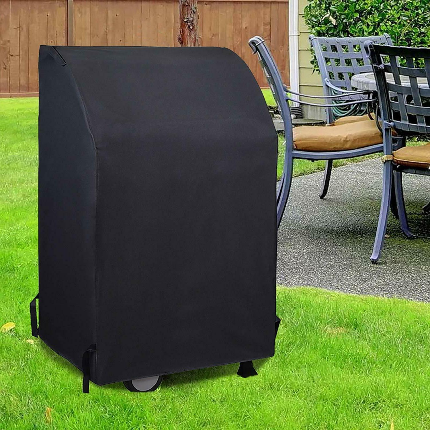 UNICOOK Heavy Waterproof 2 Cover, 32-Inch Square BBQ Cover