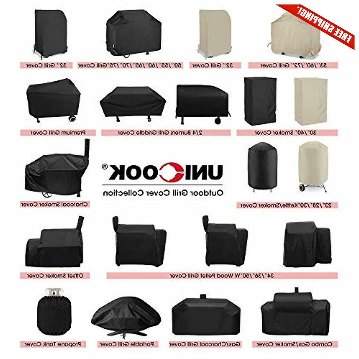 UNICOOK Charcoal and Smoker Cover,