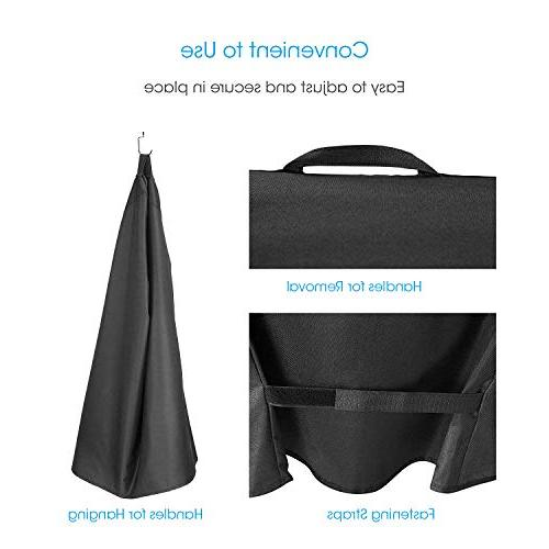 UNICOOK Electric Cover, Grill Cover, and UV Resistant Durable and Fits x