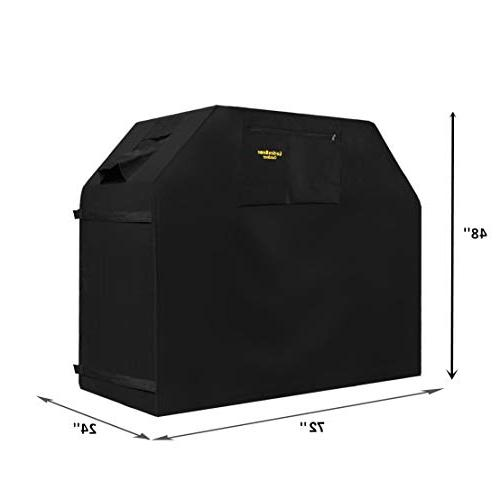 Felicite Home 72 Inches Burner Heavy Fits Brands of BBQ Storage Bag (UV & Dust Water Weather Rip